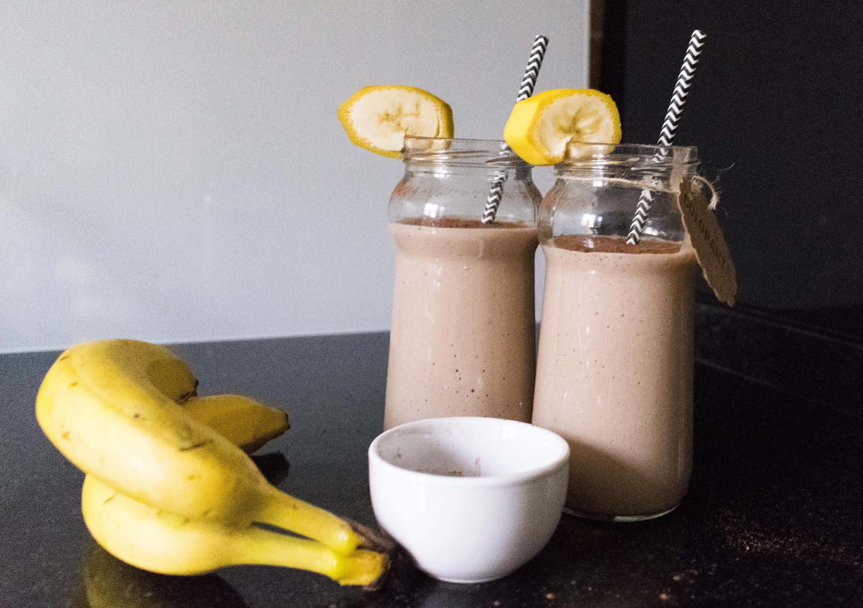Batido-platano-cacao-5
