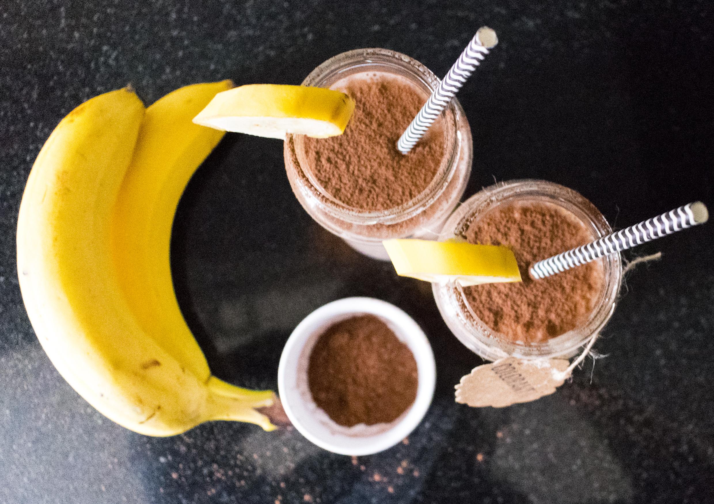 Batido-platano-cacao-7